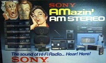 AMazing AM Stereo from Sony and other leading brands!