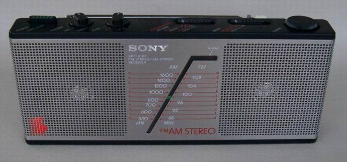 Portable Am Stereo Radios