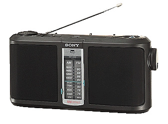 Sony SRF-A300 AM STEREO Radio